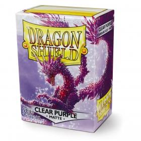 Dragon Shield Matte - Lila (halbdurchsichtig, 100 Hüllen)