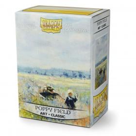 Dragon Shield ART Classic - Poppy Field (100 Hüllen)