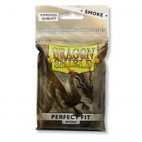 Dragon Shield Perfect Fit - Verdunkelt (100 Hüllen)