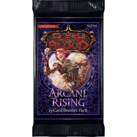 Arcane Rising Unlimited Booster Pack -- Englisch