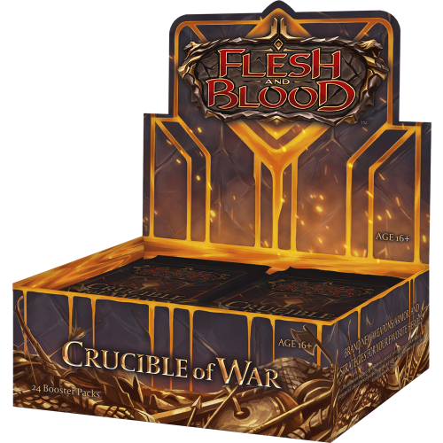 Crucible of War Unlimited Booster Display