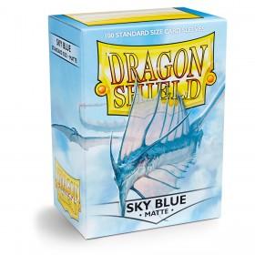 Dragon Shield Matte - Himmelblau (100 Hüllen)